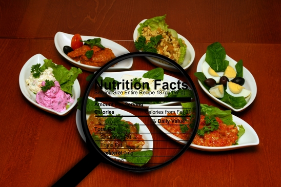 Portion size, food nutrition facts, and Chiropractic