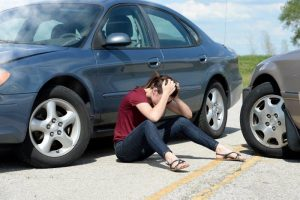 Girl is hurt in car crash