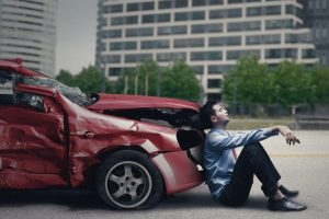 Man had car accident with delayed injury symptoms