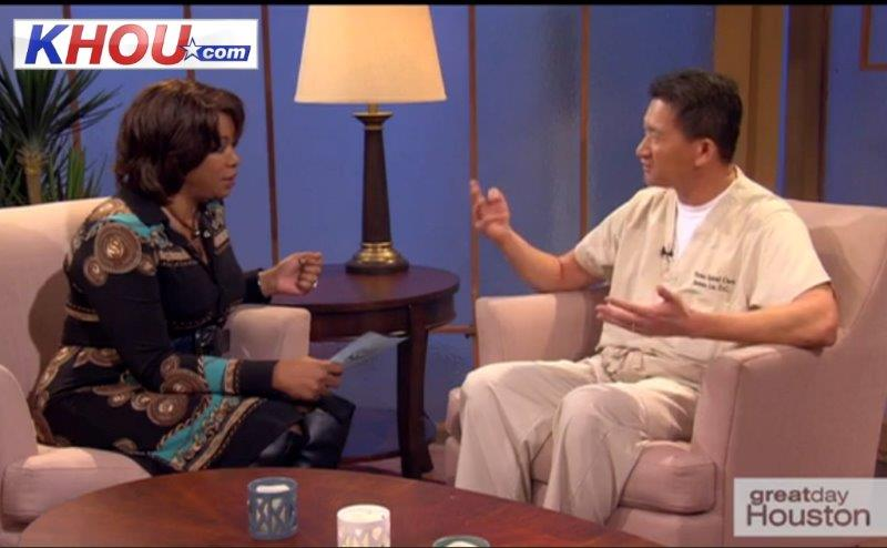 Dr. James Le in great day Houston by KHOU