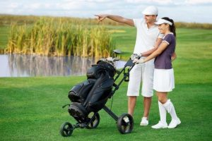 playing golf and chiropractic care