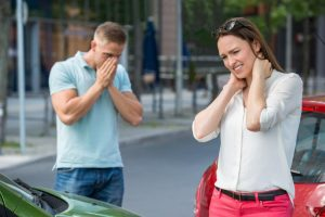 Drivers with accident injuries